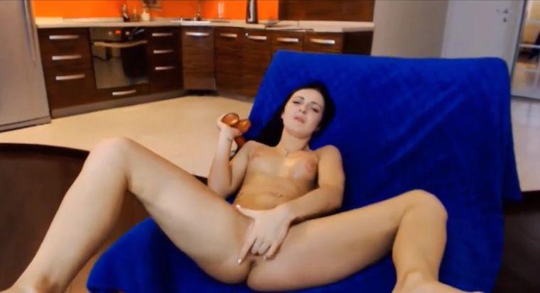 HotIsabelle Pink Dildo Masturbation Webcam Show