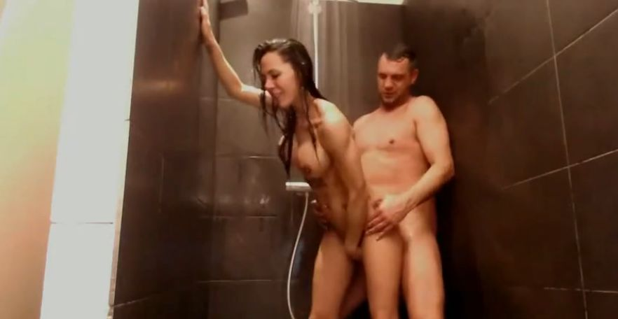 Siliconegirl Gets Fucked In The Shower 2